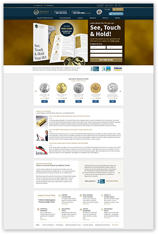 Augusta Precious Metals Website